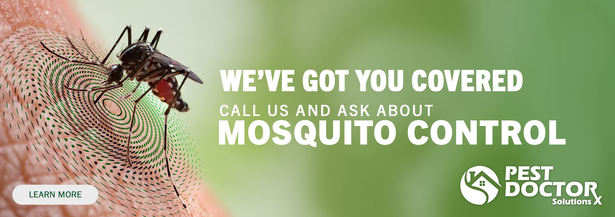 We've got you coverd - mosquito control