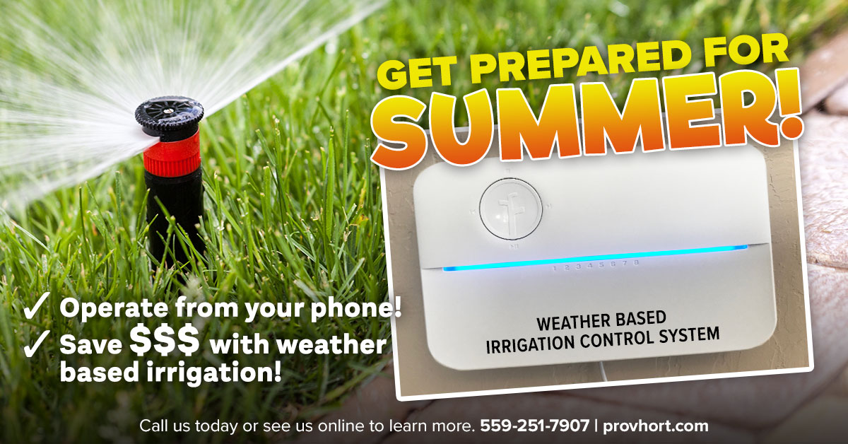 Weather Based Irrigation Control